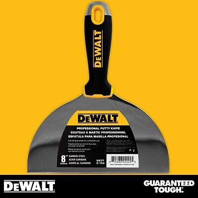 Dewalt Putty Knife 8 Carbon Steel Flexible Drywall Joint Paint Scraper