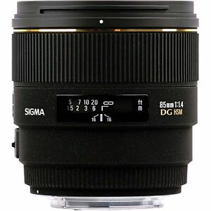 Selling sigma 85 f1.4 for Canon
