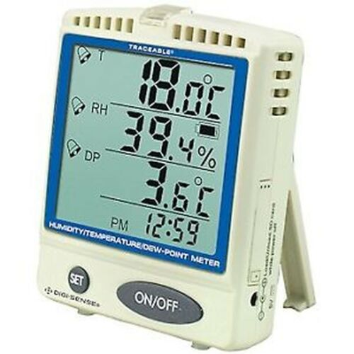 VWR® Traceable® Memory-Card Humidity/Temperature/Dew Point Meter