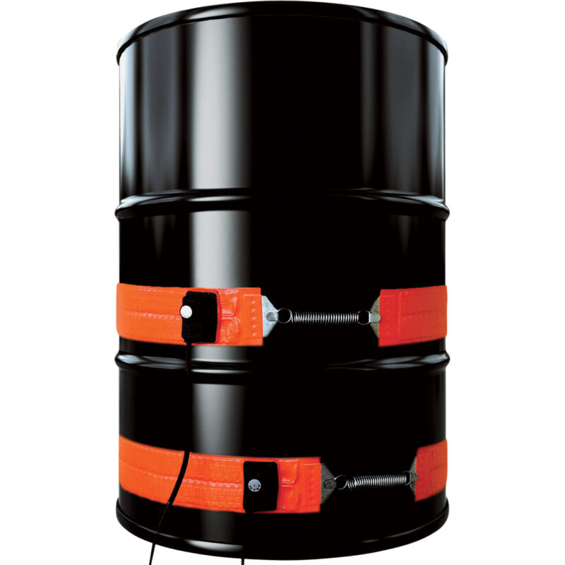 BriskHeat Metal Drum Heater -55-Gallon 1200 Watt 120 Volt #DHCS15