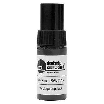 HORI Lackstift Anthrazit Grau Doppelstabmattenzaun Doppelstabmatte RAL7016
