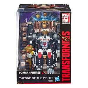 POWER OF THE PRIMES THRONE OF THE PRIMES SDCC EXCLUSIVE Optimus