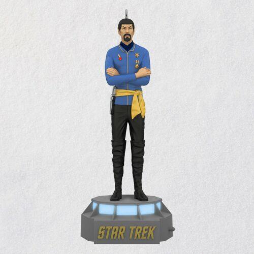 Spock Star Trek Mirror Mirror Episode 2021 Hallmark Ornament Talking