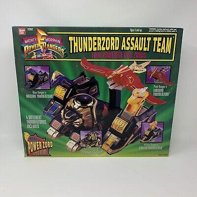 n Power Rangers Thunderzord Adult Team MMPR Sealed (Adult Power Rangers)