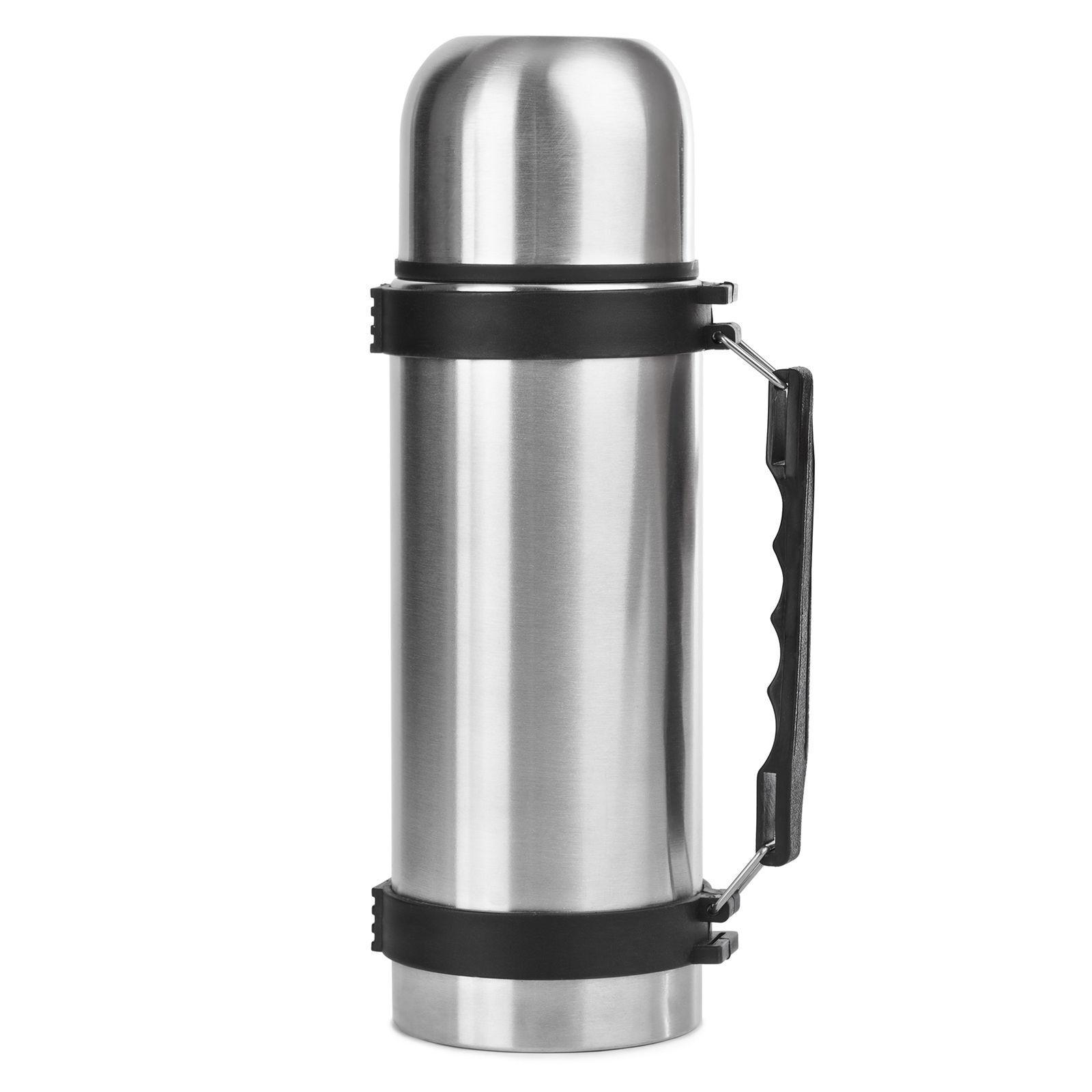 Leifheit IsolierflascheThermoflasche Kaffeekanne Kanne Silber Edelstahl 0,75l