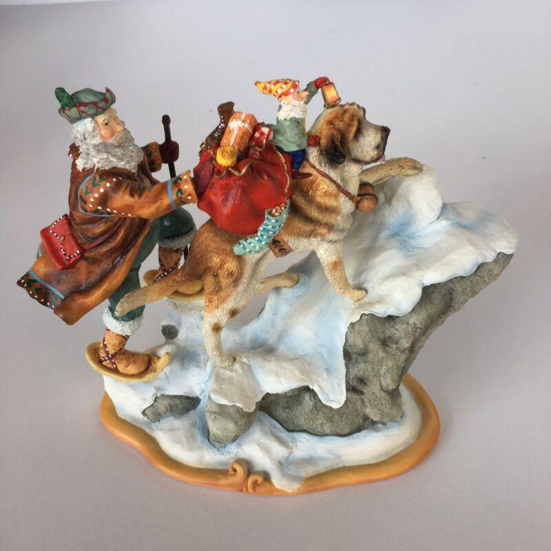 "Santa's World Teavel Collection Maruri Ltd. Edition ""Trusted Friend"" 1996"