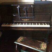 Piano Upright - Duck Son & Pinker. Bath & Bristol Blaxland Blue Mountains Preview