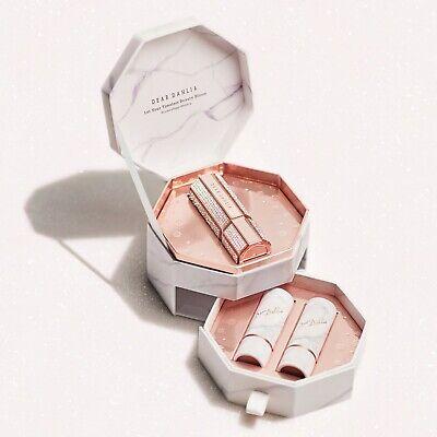 Dear Dahlia Lip Paradise Crystal Shine Holiday Edition Refillable Lipstick Set