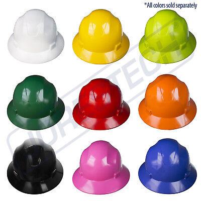 Hard Hat Full Brim Jorestech 4 Point Ratchet Suspension Construction Safety  Ansi add921fd89d4