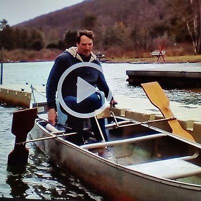 Canoe Accessory Paddle Boat Conversion Kit