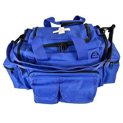 Blue Emt Medical Gear Bag Tactical Emergency Trauma Tools Shoulder Bag Ems Medic