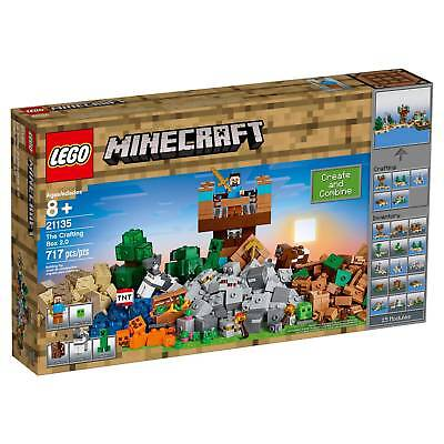 LEGO® Minecraft The Crafting Box 2.0 with Steve and Creeper 21135
