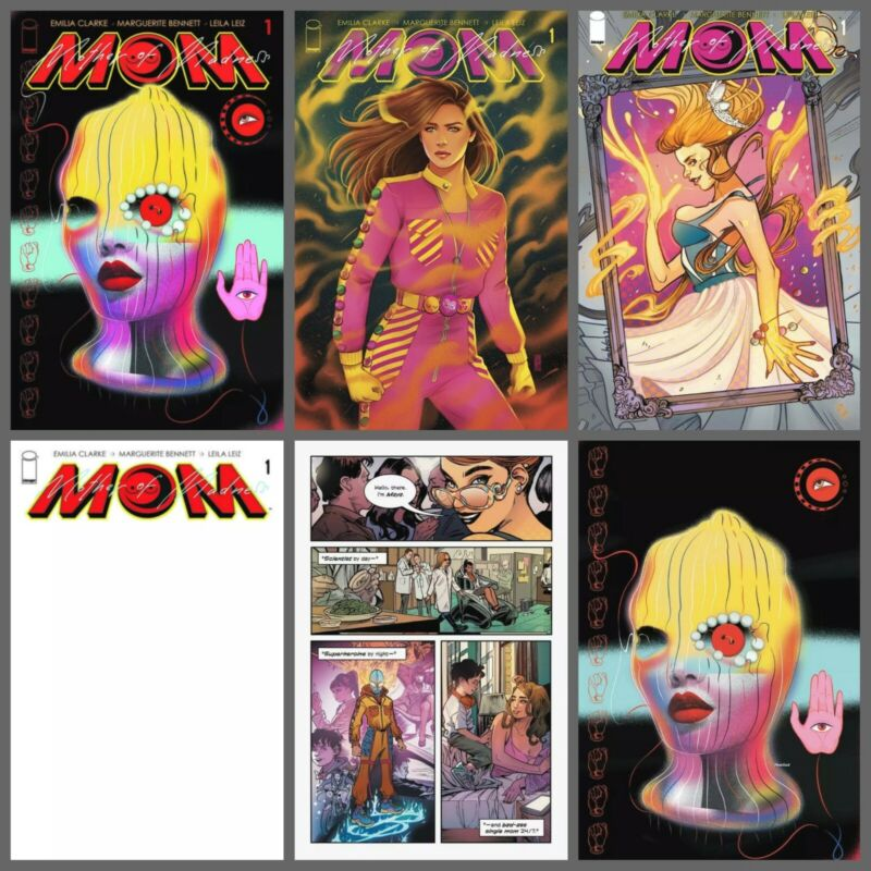 Mom Mother of Madness #1 A B C D Variant Set or 1:10 1:25 Options Clarke NM