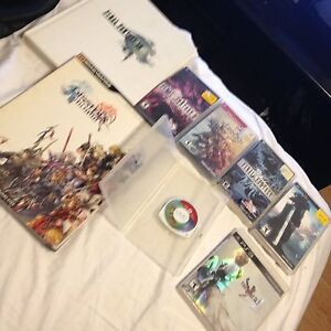 4 final fantasy psp , un ps3 et ratchet clank