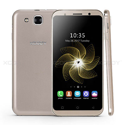 """XGODY 5.3"""" Factory Unlocked 3G Smartphone Android 5.1 AT&T T-Mobile Cell Phone"""