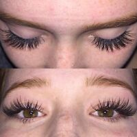Eyelash Extensions  $69. UNLIMITED  LASHES!!!