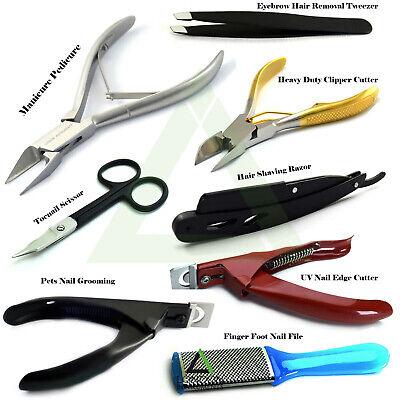 Fußpflege Nail Clipper (Podologe Fußpflege Instrumente Heavy Duty Knipser Clipper & Haar Rasieren)