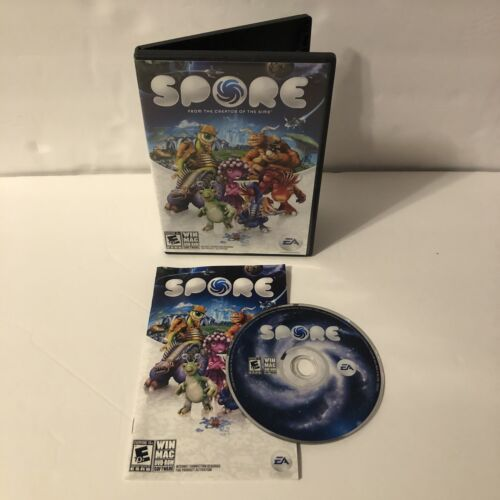 Computer Games - Spore (Windows/Mac, 2008) DVD-ROM Computer Game COMPLETE