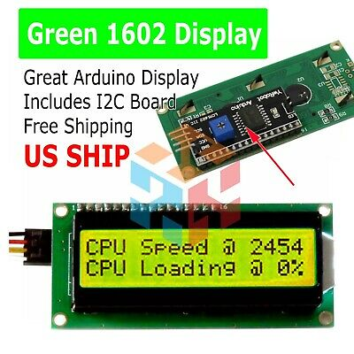 Iici2ctwi 1602 Serial Yellow Backlight Lcd Display For Arduino