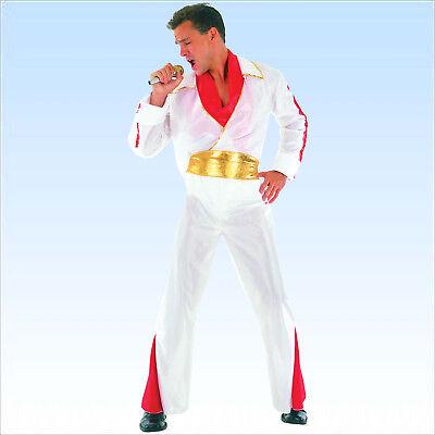Elviskostüm Gr 48-52 Kostüm Elvis Sänger Pop King Verkleidung Musik VIP - Sänger Kostüm