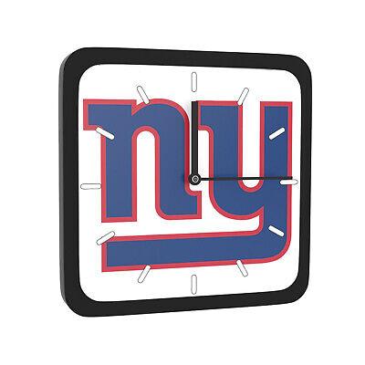 Ny Giants Room Decor (NFL New York Giants Home Office Room Decor Wall Desk Clock Magnet)