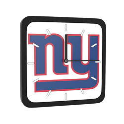 NFL New York Giants Home Office Room Decor Wall Desk Clock Magnet 6x6