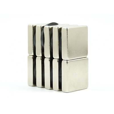 N38 20mm x 10mm x 5mm strong Neodymium block magnets DIY MRO cheap Var.Packs