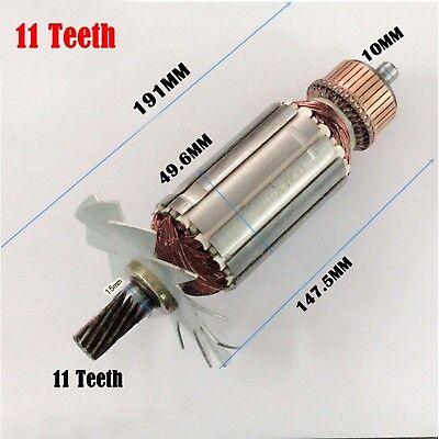 Armature For MAKITA 2414NB 2414B Electric 11 Teeth Portable Metal Cut-Off Saw AU