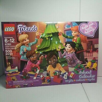 LEGO Friends Advent Calendar 41353, New 2018 Edition (500 Pieces)