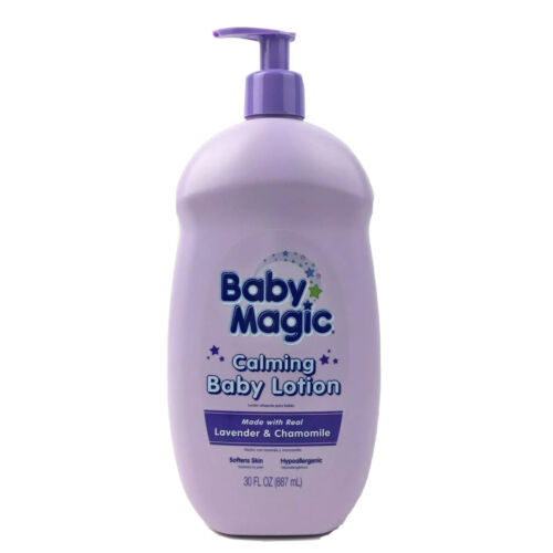 Baby Magic Calming Baby Lotion, Lavender and Chamomile, 30 F