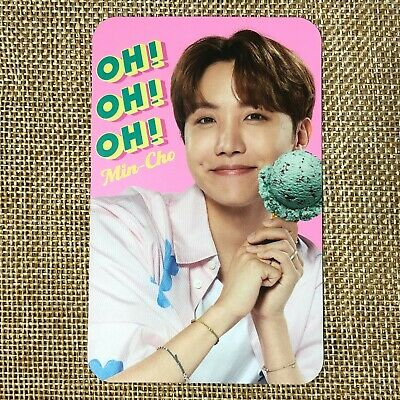 BTS J-HOPE [ Baskin Robbins Promo Official Limited Photocard ] New /+Gift