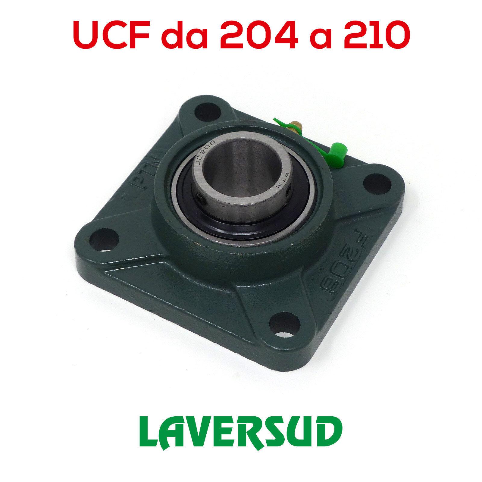 Supporti a Flangia con Cuscinetto UCF: da 204 a 210 (varie misure)