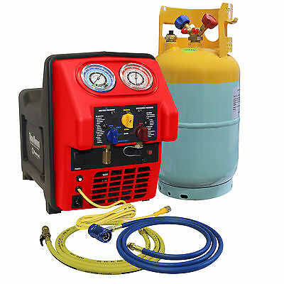 Mastercool 69391 - Spark-Free R1234yf Contaminated Portable A/C Recovery Unit