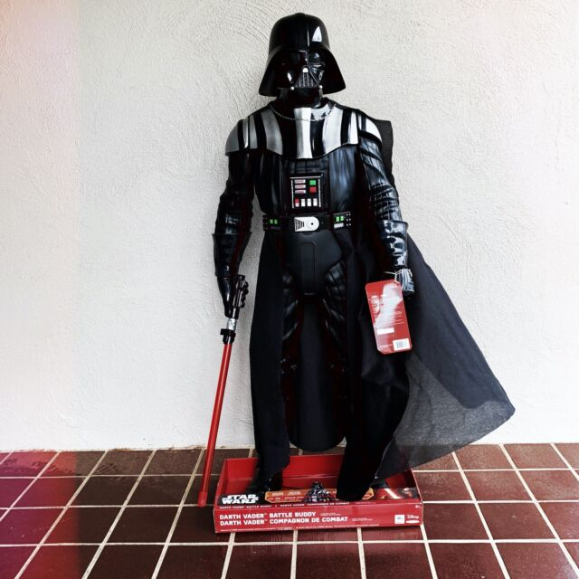 Force Battlers  Darth Vader Slashing Attack Action Figure Hasbro Toys Star Wars