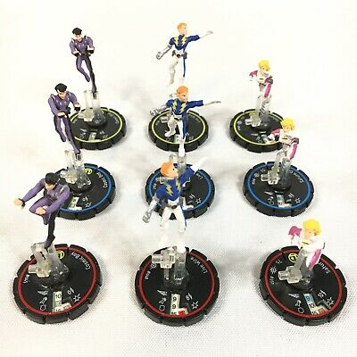 Cosmic Girl Games (9 DC Comics REV Heroclix LEGION OF SUPERHEROES COSMIC BOY LIVE WIRE SATURN)