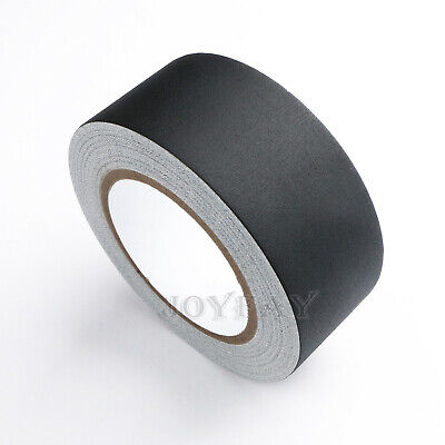 Gaffer Tape Non Reflective Black Water Resistant Tape 2 X 30 Yard By U.s. Solid