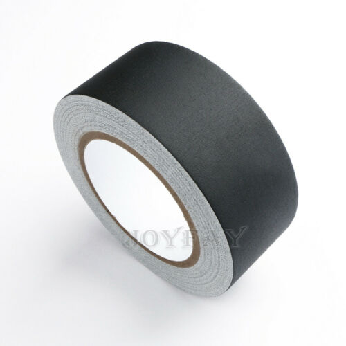 """Gaffer Tape Non Reflective Black Water Resistant Tape 2"""" x 30 yard by U.S. Solid"""