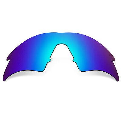 Ersatzgläser für Oakley M Frame Sweep Sonnenbrille Anti-kratzer Blau Mirror