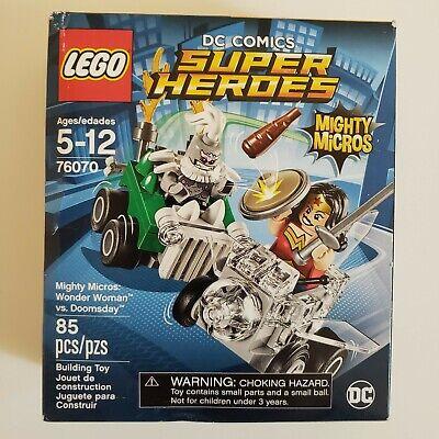 LEGO 76070 Mighty Micros: Wonder Woman vs. Doomsday - New Sealed Damaged Box
