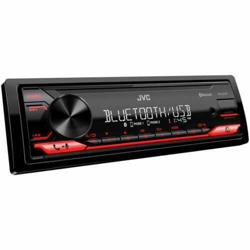 AUTHENTIC JVC KD-X270BT Digital Media Car Stereo (NO CD) Bluetooth-Pandora-Spot