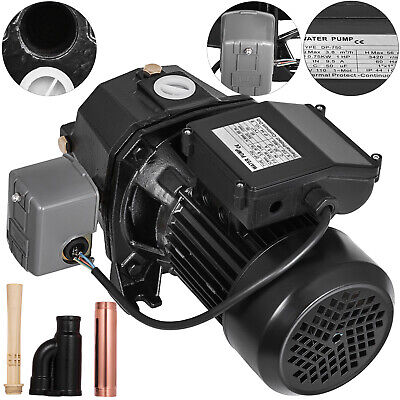 1 Hp Shallow Well Jet Pump W Pressure Switch 110v Irrigation 56m Agricultural