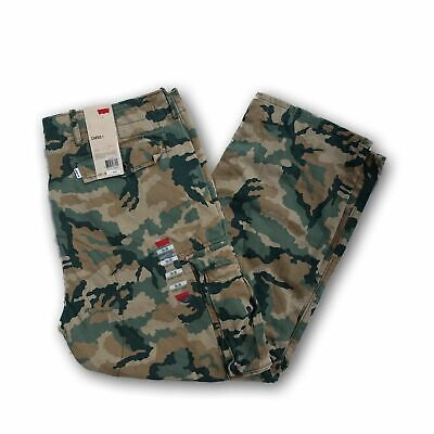 - Levis Relaxed Fit Ace Cargo Pants Camo Green Beige Black 30 32 33 34 36 38 40