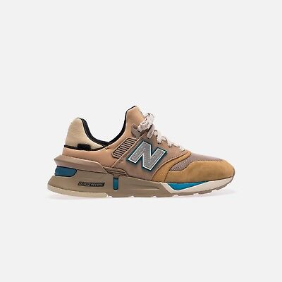 🔥[FREE WORLDWIDE SHIPPING]Kith New Balance 997S Tan/Beige US7.5 MS997TH