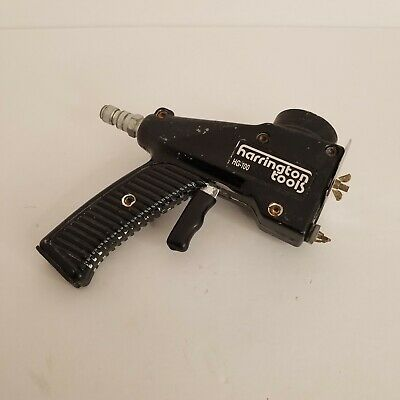 Harrington Pneumatic Air Texture Hopper Gun Model Hg-100 Drywall Tool Rc1