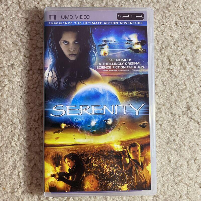 Serenity (UMD Video, 2005) W/ Case Tested Works