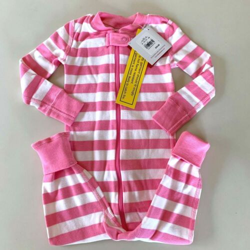 """HANNA ANDERSSON Cute Baby Girls """"STRIPED"""" Pajama, 18-24 Months, 80 cm. Comfy!"""
