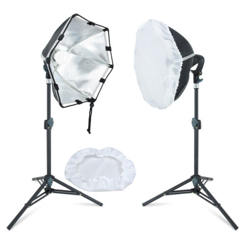 LINCO Photography Photo Table Top Studio Lighting Kit- 30 Seconds to Storage