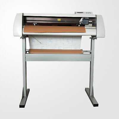 28 Cutting Plotter Vinyl Cutter Sign Making Machine Cutting Size 700mm Gjd-800