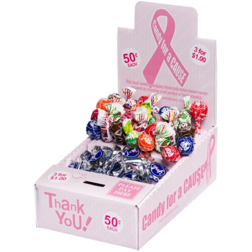 25 New Vending Route Display Honor Boxes Sells Candy & Lollipops helping Charity