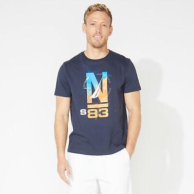Nautica Mens Ns-83 Graphic T-Shirt